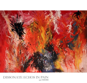 Dissonate Echos in Pain - acrylic - Piece_No_02-110110-MOD