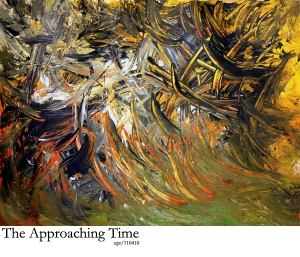 The Approaching Time - acrylic - Piece_No_07-110410-MOD