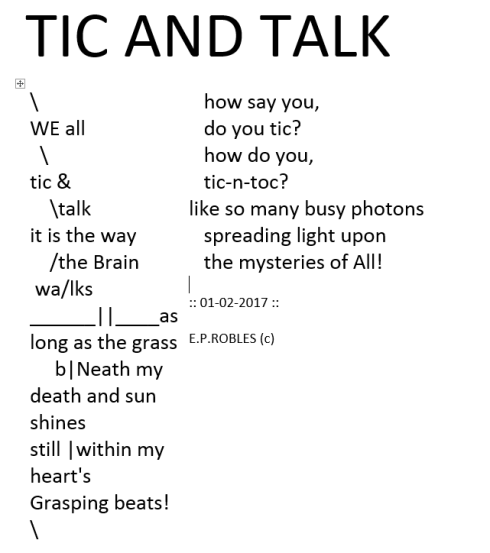 tic-and-talk